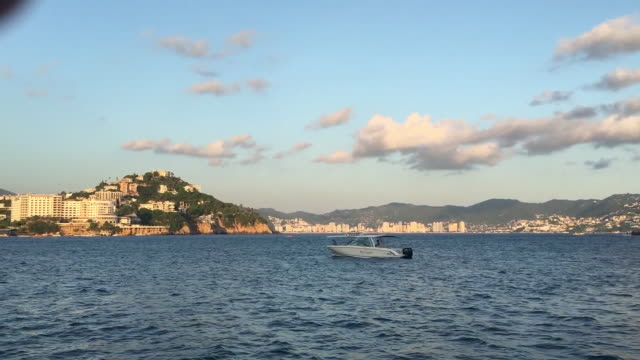 acapulco bay - bay of water stock videos and b-roll footage