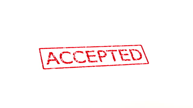 accepted and rejected stamp - receiving stock videos & royalty-free footage