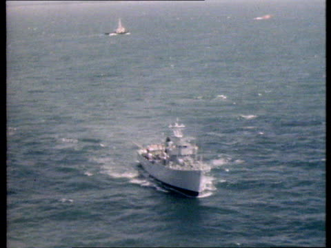 Accidents Shipwreck English Channel AirV Upturned hull 'Tarpenbek' AirV Naval vessel AirV Upturned hull Video Southern TV Archive Tape 5742...