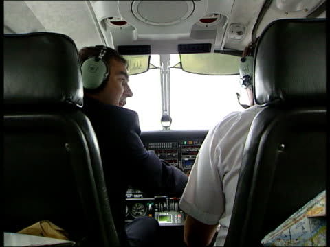 kennedy plane crash search for wreckage continues england dave goodey at controls of piper saratoga as in flight bv goodey and dunn in cockpit of... - {{relatedsearchurl(carousel.phrase)}}点の映像素材/bロール