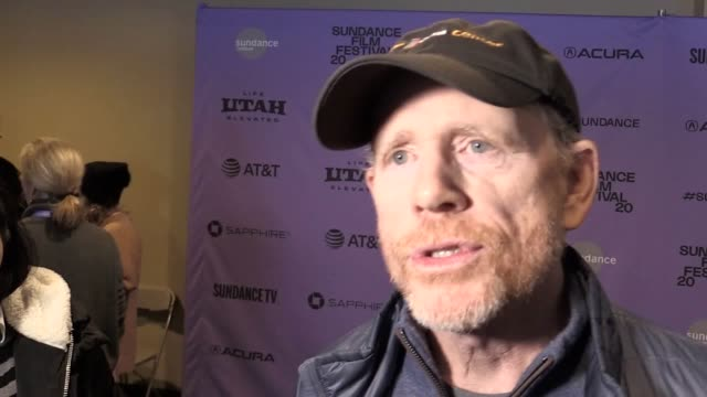 acclaimed filmmaker ron howard said a personal connection moved him to make a documentary about the most devastating wildfire in california history.... - ron howard filmregisseur stock-videos und b-roll-filmmaterial