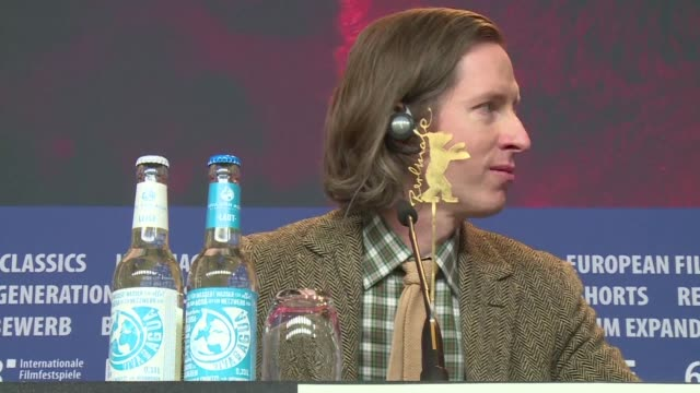 stockvideo's en b-roll-footage met acclaimed us director wes anderson's new animated feature isle of dogs will kick off the berlin film festival - internationaal filmfestival van berlijn