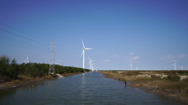 according to data released by the national bureau of statistics, china's wind power generation reached 236.73 billion kwh from january to september... - fuel and power generation stock-videos und b-roll-filmmaterial