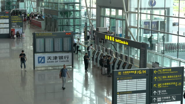 according to the international air transport association china is likely to overtake the united states as early as 2022 to become the world's largest... - international air transport association video stock e b–roll