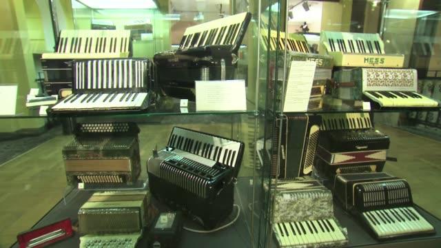 accordion museum - piano key stock videos & royalty-free footage