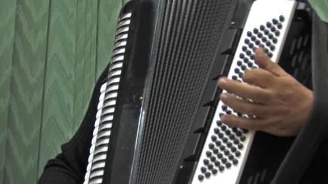 vídeos y material grabado en eventos de stock de acordeón - acordeonista