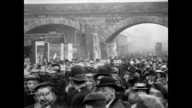 accrington parade 1901 - lancashire stock videos and b-roll footage