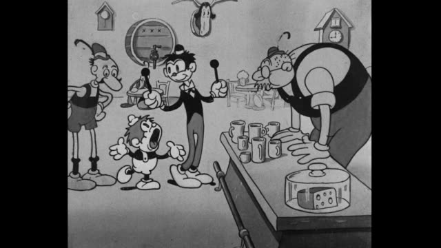Accused by angry owner, Tom and Jerry confidently prove origin with Swiss song