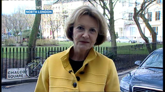 accused of 'institutional ageism'; england: london: gir: int joan bakewell 2-way interview sot - joan bakewell stock videos & royalty-free footage