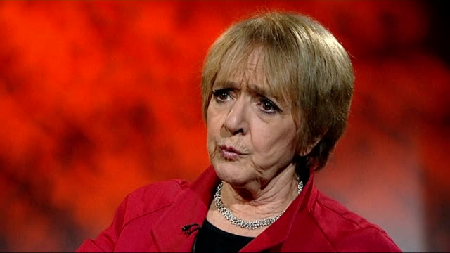 hmrc accused of not confronting big business over unpaid tax int margaret hodge mp interview sot disappointed with the performance of hmrc - マーガレット・ホッジ点の映像素材/bロール
