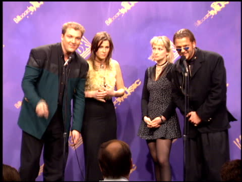 ace of base at the 1994 billboard music awards at universal amphitheatre in universal city, california on december 7, 1994. - billboard music awards stock videos & royalty-free footage