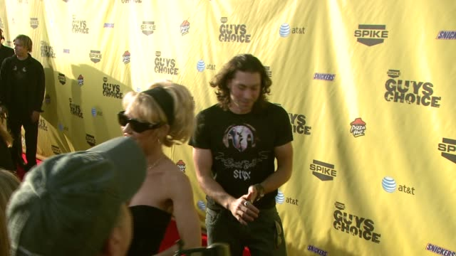 ace young at the spike tv's guys' choice awards at radford studios in los angeles california on june 10 2007 - spike guys choice awards video stock e b–roll