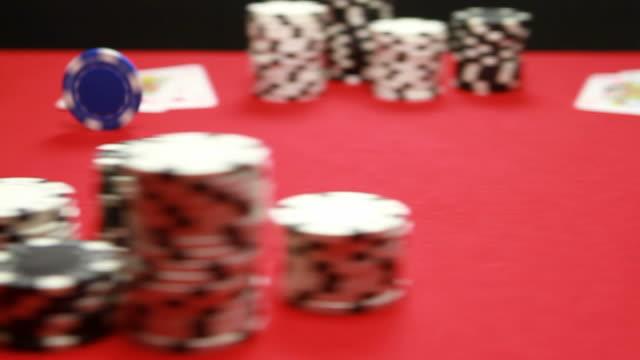 vídeos de stock e filmes b-roll de aces. - póquer