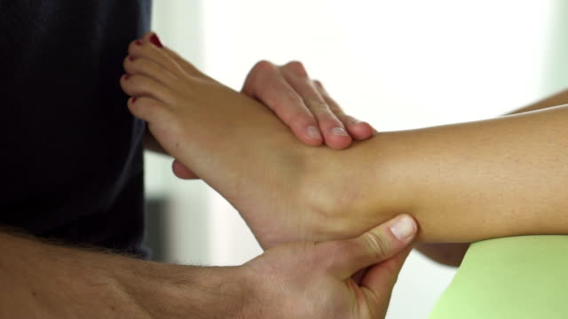 achilles tendon therapy - tendon stock videos & royalty-free footage