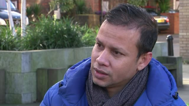 Retailers sign up to voluntary ban on sales to under 18s ENGLAND London DAY Jabed Hussain interview SOT