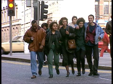 Cecil Jackson jailed ITN ENGLAND London LMS Dassa Jackson's family towards as cross street