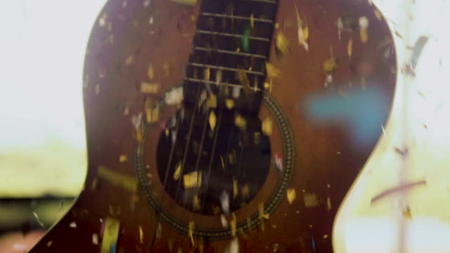 acoustic guitar at celebration event - country and western stock videos & royalty-free footage