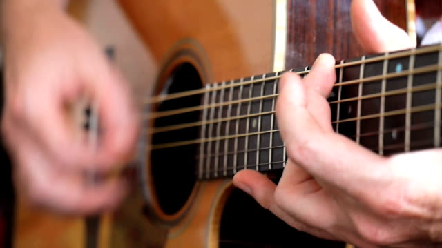 acoustic guitarist - folk music stock videos and b-roll footage