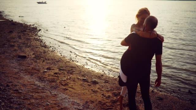acro yoga - girlfriend stock videos & royalty-free footage