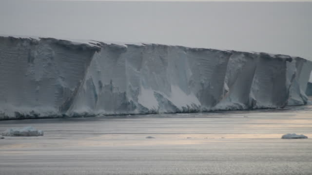 PAN across ice shelf, Antarctica
