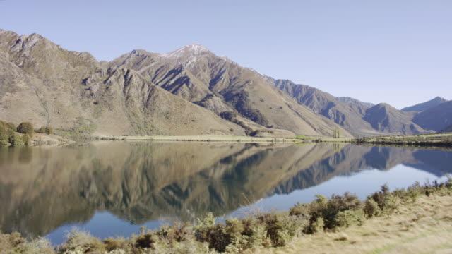 across the lake - otago region stock videos & royalty-free footage