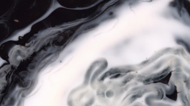 acrylic paints in water - beautiful abstract space - liquidiser stock videos and b-roll footage
