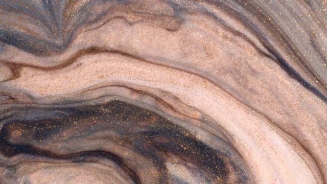 vídeos y material grabado en eventos de stock de pinturas acrílicas en el agua-hermoso espacio abstracto - acrílico