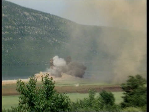 Albania hit NATO action Albania hit ITN 