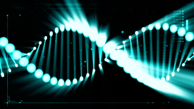 dna activation - helix model stock videos and b-roll footage