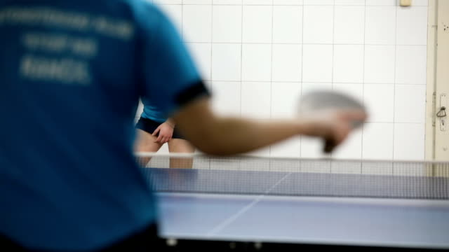 active and fit young women - table tennis stock videos & royalty-free footage