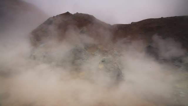 vídeos y material grabado en eventos de stock de active fumaroles. kamchatka, russia - géiser