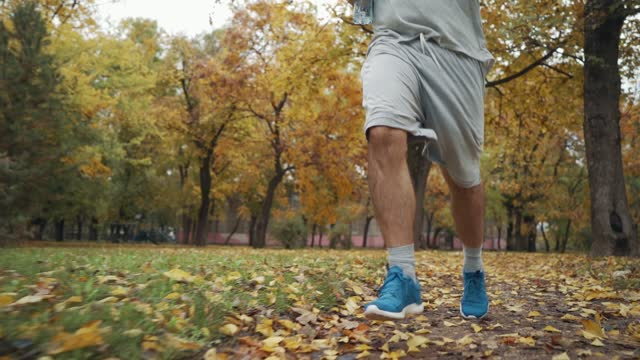 active mature man is jogging - mature men stock videos & royalty-free footage