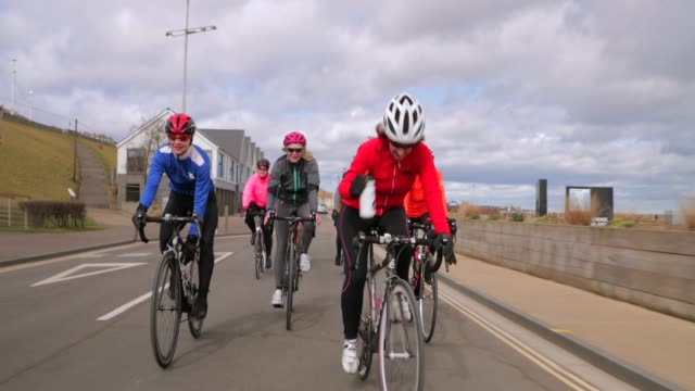 Active Senior Ladies Cycling