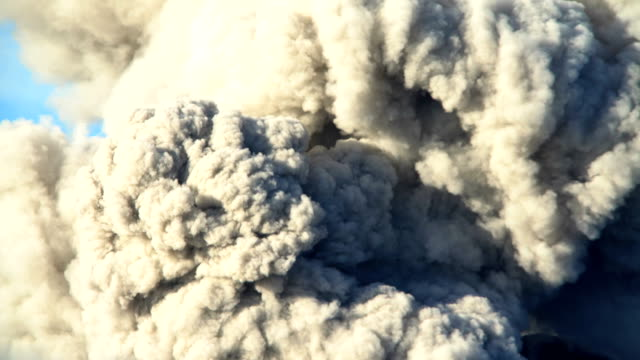 active volcano mt bromo erupting smoke java indonesia - ash stock videos & royalty-free footage
