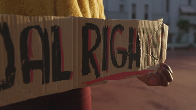 activist for equal rights - gender stereotypes stock videos & royalty-free footage