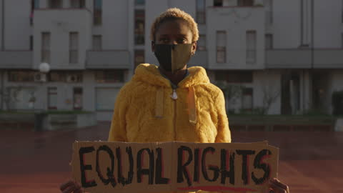 activist for equal rights - social justice concept stock videos & royalty-free footage