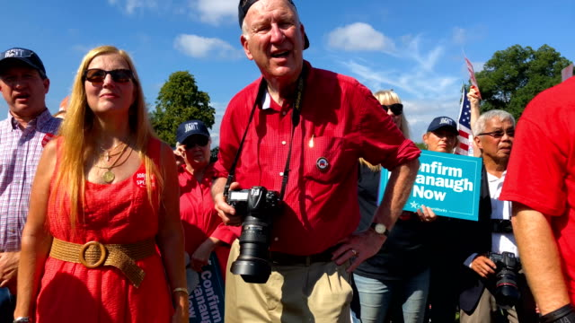 activists participate in a rally hosted by freedomworks september 26 2018 at the west lawn of the capitol in washington dc freedomworks hosted a... - bid stock videos & royalty-free footage