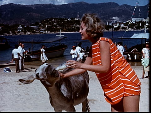 stockvideo's en b-roll-footage met 1963 activities in acapulco - 1963