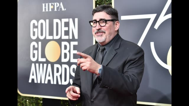 Actor Alfred Molina attends The 75th Annual Golden Globe Awards at The Beverly Hilton Hotel on January 7 2018 in Beverly Hills California