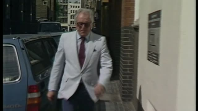 actor and campaigner lord rix dies aged 92 as140686005 / london ext brian rix along arriving at mencap hq - brian rix stock videos & royalty-free footage