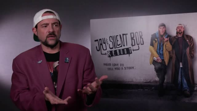 actor and director kevin smith discusses how having a heart attack helped inspire his latest creation, jay and silent bob reboot. the film which... - val kilmer stock videos & royalty-free footage