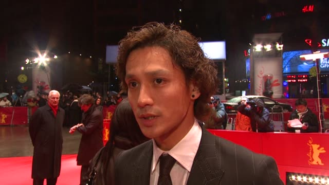 Actor Ando Masanobu on how does it feel to be here with this film on the only Japanese film in competition at the 59th Berlin Film Festival Forever...