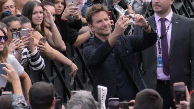 Actor Bradley Cooper attends the 'A Star Is Born' photocall during the 66th San Sebastian International Film Festival on September 29 2018 in San...