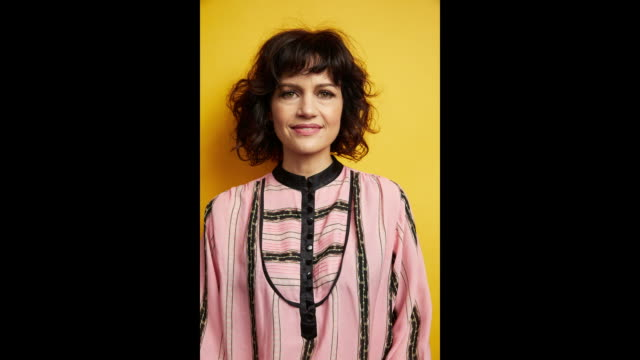 Actor Carla Gugino from the film 'Elizabeth Harvest' poses for a portrait in the Getty Images Portrait Studio Powered by Pizza Hut at the 2018 SXSW...