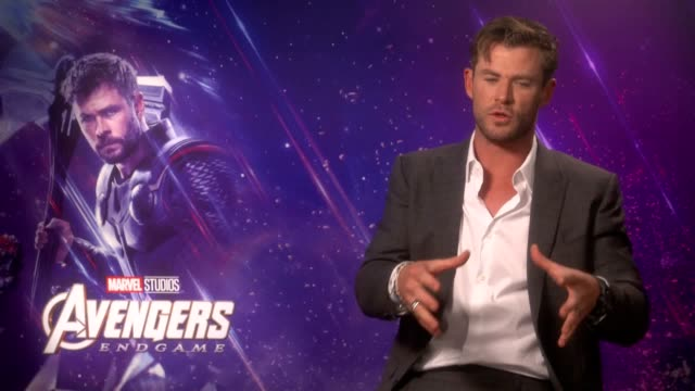 Actor Chris Hemsworth discusses his latest Marvel film as Thor in Avengers Endgame He says his career was debatable before the role and what impact...