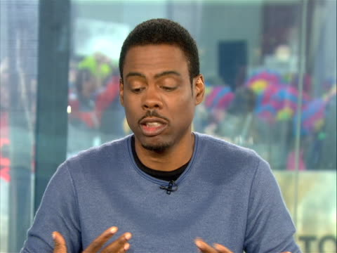 actor, chris rock tells the today show's ann curry that on his upcoming film role in two nights in new york. sot chris rock: if anybody saw two days... - ann curry stock videos & royalty-free footage