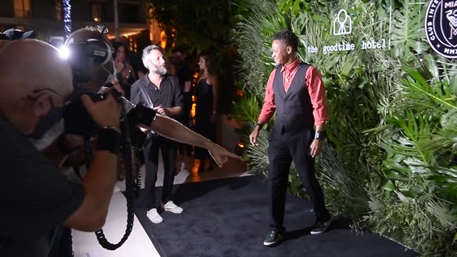 actor cuba gooding jr. attends the inter miami cf season opening party hosted by david grutman and pharrell williams at the goodtime hotel on april... - full length stock videos & royalty-free footage