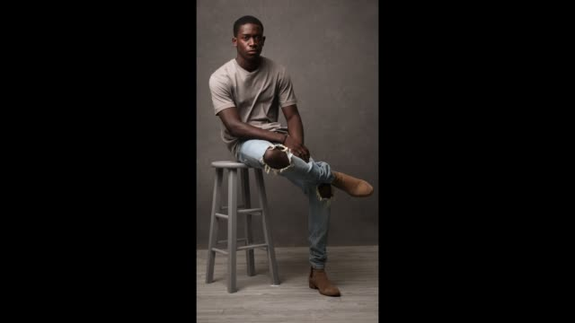 Actor Damson Idris of 'Snowfall' is photographed for Entertainment Weekly Magazine at the 2017 ATX Television Festival Cinemagraphs in Austin Texas