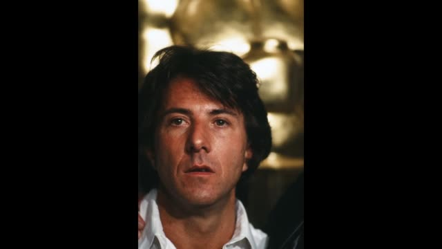 GIF Actor Dustin Hoffman poses backstage after winning 'Best Actor' during the 52nd Academy Awards at Dorothy Chandler Pavilion in Los...