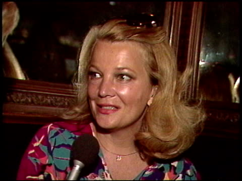 Actor Gena Rowlands and husband director John Cassavetes She talks about her marriage with John Cassavetes and how they are able to work together...